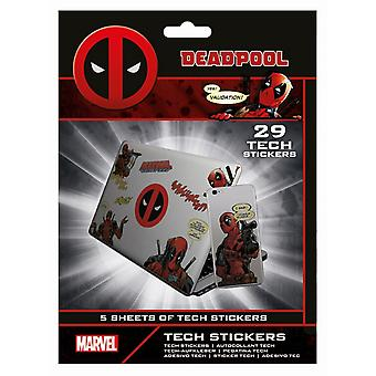 Deadpool Merc With A Mouth Stickers (Pack of 29)