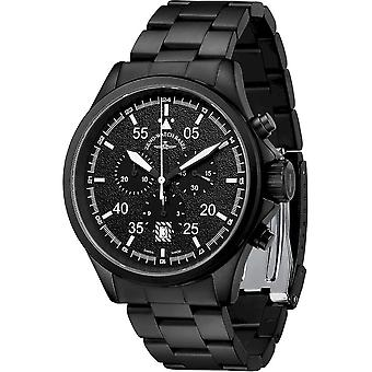 Zeno-Watch - Wristwatch - Men - Speed Navigator Chronograph black - 6751-5030Q-bk-1M