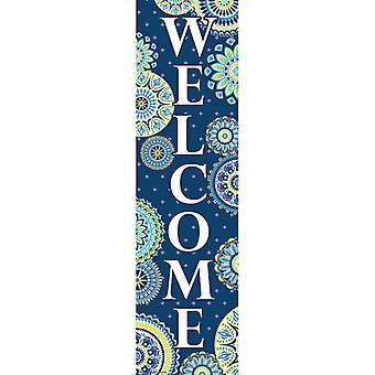 Striscioni di benvenuto Blue Harmony - Verticale