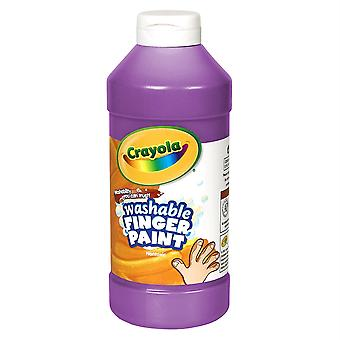 Crayola Washable Finger Paint, Violet, 16 Oz