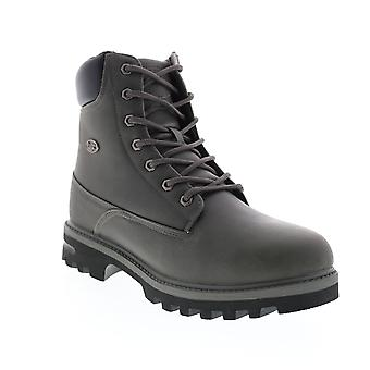 Lugz Empire HI  Mens Gray Synthetic Lace Up Casual Dress Boots