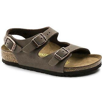 Birkenstock kids roma mocha sandals
