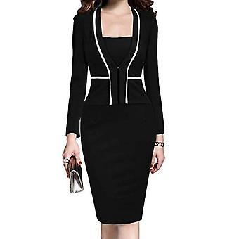 Kadın Elbise Takım Ceket Bodycon