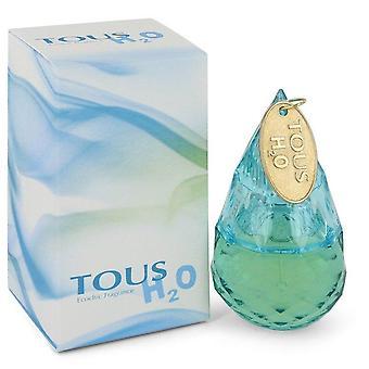 Tous H20 Eau De Toilette Spray przez Tous 1 uncji Eau De Parfum Spray