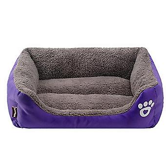 Paw Pet Sofa, Dog Beds, Waterproof, Bottom Soft, Fleece Warm, Cat Bed House,
