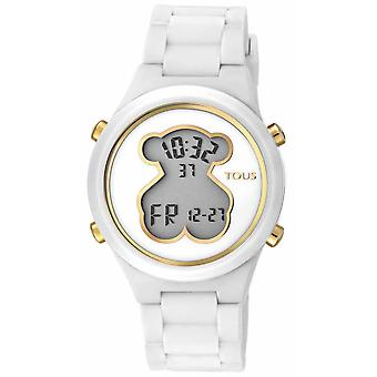 Tous watches d-bear teen watch for Digital Quartz Woman with Silicone Bracelet 000351595