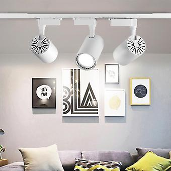 6szt Led Track Lampy reflektory do salonu, ubrania, sklep