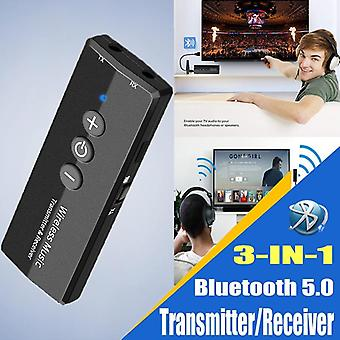 Bluetooth Verici V5.0 Kablosuz Ses Edr Dongle (siyah)