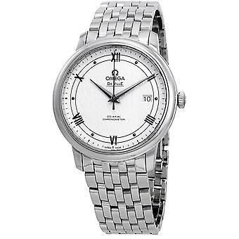 Omega De Ville Automatic Silvery White Dial Men's Watch 424.10.40.20.02.005