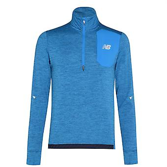 New Balance Impact Run Zip Top Mens