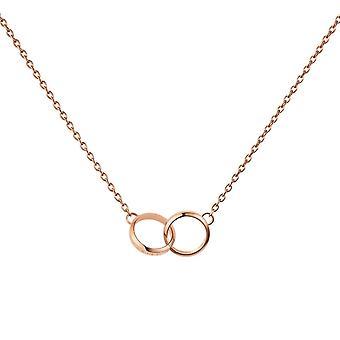 Daniel Wellington DW00400166 Elan Unity Rose Gold Tone Necklace