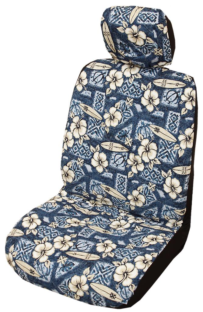 Pleasant Side Airbag Optional Hibiscus Surf Separate Headrests Hawaiian Car Seat Covers Unemploymentrelief Wooden Chair Designs For Living Room Unemploymentrelieforg