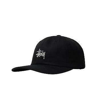 Hat unisex stussy stock low pro cap black131982.black