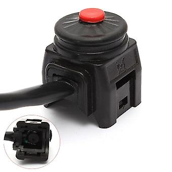 Universal Black Durable Kill Stop Switch Horn Button