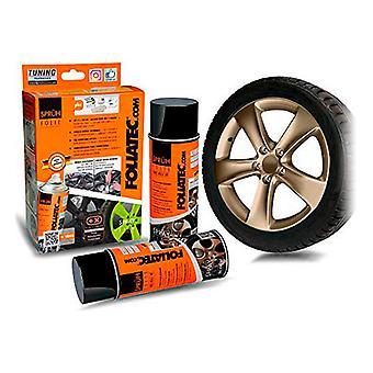 Flytande gummi för bilar Foliatec Brons 400 ml (2 st)