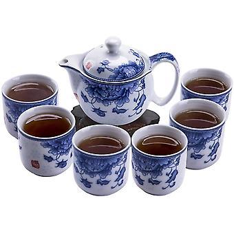 7 stycke kinesisk Kung Fu te set