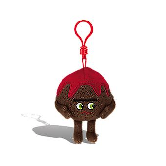Whiffer sniffers - 'meatball paul' meatball sub scented backpack clip