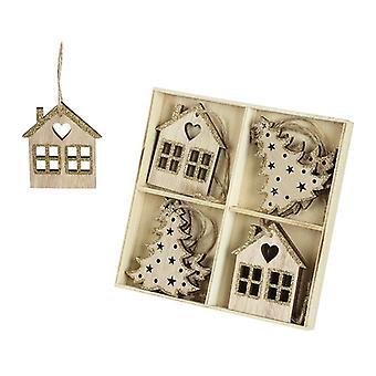 Heaven Sends House and Tree Christmas Decs