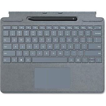 FengChun Surface Pro X Signature Keyboard im Bundle mit Slim Pen Eisblau (QWERTZ Keyboard)