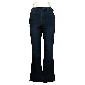 Belle af Kim Gravel Kvinders Jeans Flexibelle Boot-Cut Blue