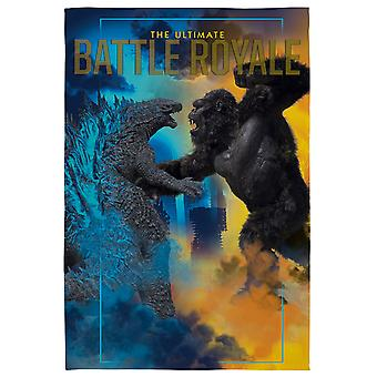 Godzilla Vs Kong Fleece Deken