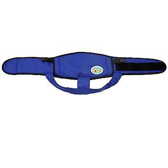 青い赤ちゃんのダイニングチェア固定ベルト、アンチフォール保護ベルトaz22441