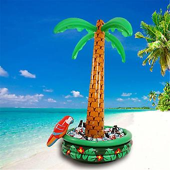 Inflatable Coconut Palm Tree Water Spray, Beach Party Pool Toy