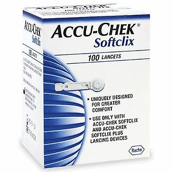 Accu-Chek Accu-Check Softclix Lancets, 100 Comte