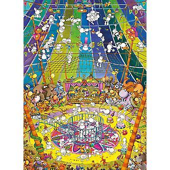 Clementoni Mordillo The Show Jigsaw Puzzle (1000 Pieces)