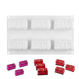 New Silicone Mousse Mold, For Diy, Baking Desserts, Cake Decorating, Kitchenware, 3d Cake Tray