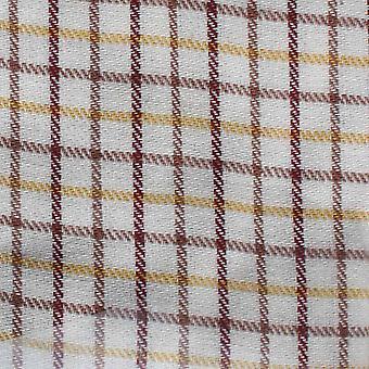 Champion Tattersall Country Casual Style langærmet skjorte - Rød - 4XL