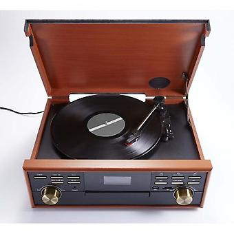 3-speed din lemn Record Player