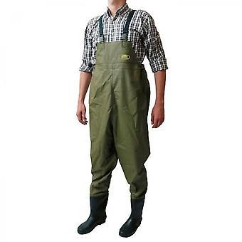 Kaki Green Overall Voor Heren