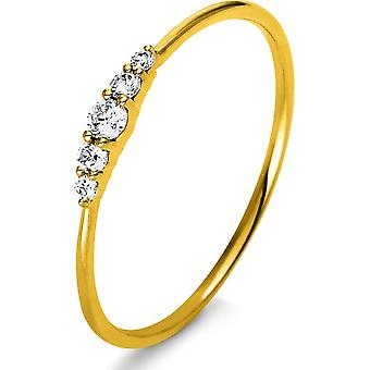 Luna Creation Promessa Ring Multiple Stone Set 1K122G854-6 - Ring breedte: 54