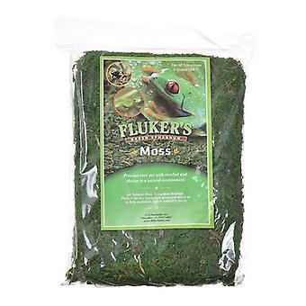 Flukerův zelený sphagnum mech - velký (8 suchých kvartů)