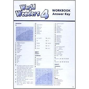 World Wonders 4: Workbook with Key
