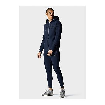 883 Police Cotton Zip Up Slim Fit Navy Tracksuit