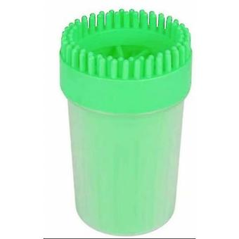 Pet Utensils, Pet Foot Washing Cups Can Be Reused, Portable, Durable And Easy To Clean. Green B
