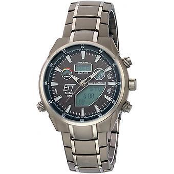 ONE (Eco Tech Time) Grey Titanium OJ-11339-60M Men's Watch