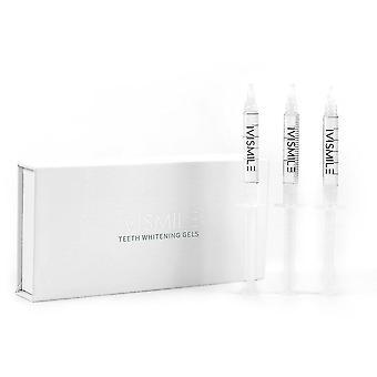 Teeth whiteners teeth whitening gel kit carbamide tooth syringe whitening dental material 3pcs 3ml|teeth whitening