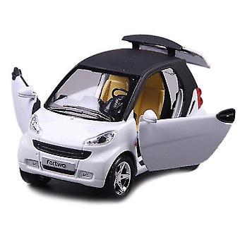 מכוניות 1:24 סימולציה סגסוגת חכמה סגסוגת אפוי מכונית דגם לבן