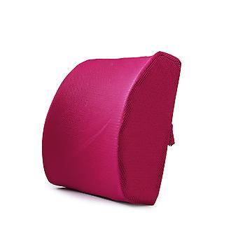 זיכרון כותנה מותניים גב הליבה המשרד כרית אחורית רכב כרית מותניים קיץ רשת מותני נושם כרית תמיכה