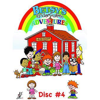 Betsy's Kindergarten Adventures 4 [DVD] USA import