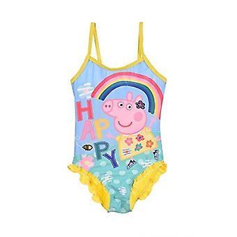 Meninas Peppa Pig Swimwear Swimsuit /One – pedaço nadar traje