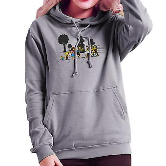 Gele koorts de Simpsons Walking Dead Women's Hooded Sweatshirt