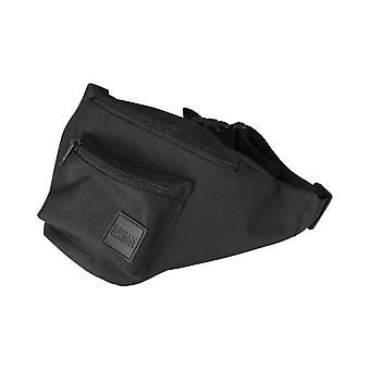 Urban classics - shoulder triple zip bag black