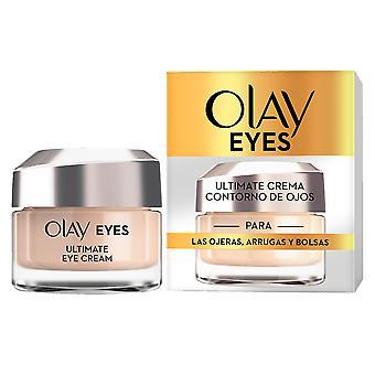 Olay øjne ultimative Crema Contorno Ojos 15 Ml til kvinder