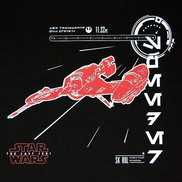 Star Wars Mens The Last Jedi SK-RLB T Shirt Black