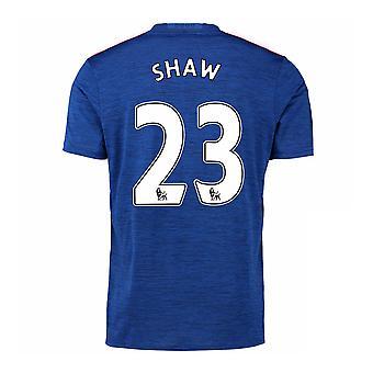 2016-17 Manchester United koszulki (Shaw 23) - dla dzieci