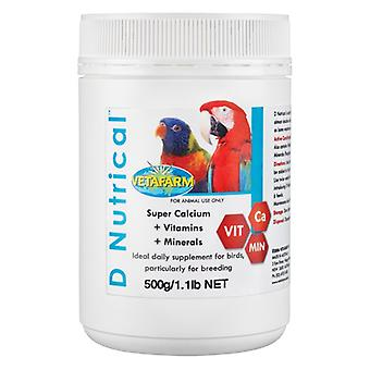 Vetafarm D Nutrical 500gm Powder